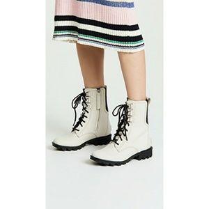 Sorel - 'Phoenix' Lace Boot - Fawn/Cream